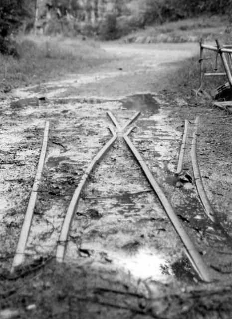 Ashover Light Railway Track At Butts 169 John Sutton