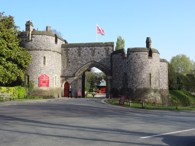 Arundel Castle Gate