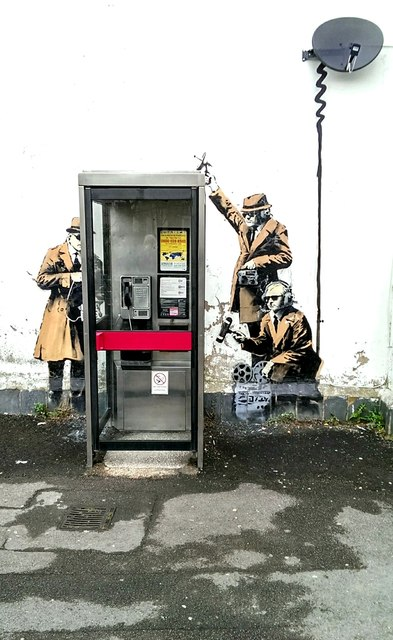 Banksy: Controversy in Cheltenham