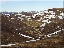 NO0477 : Moorland south of Màm nan Carn by William Starkey
