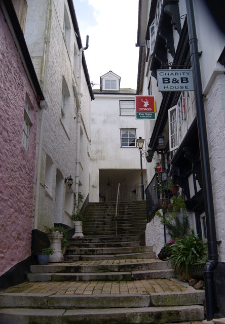 Steps in Dartmouth