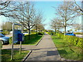 ST7368 : Lansdown Park and Ride by Jonathan Billinger