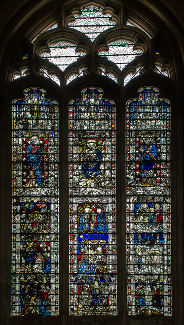 Stained Glass Window N X York Minster 169 Julian P Guffogg