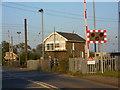 TF1305 : Helpston signal box by Paul Bryan