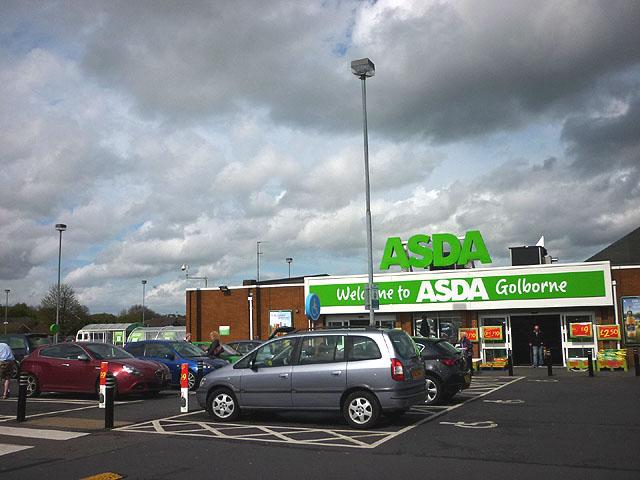 Asda Golborne Entrance And Car Park 169 Karl And Ali Cc By