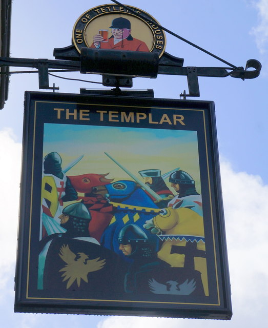 The Templar Public House on Vicar Lane, Leeds