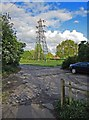 SO8170 : Electricity pylon adjacent to Power Station Road, Stourport-on-Severn by P L Chadwick