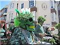 TQ8209 : Jack in the Green Festival - skull by N Chadwick