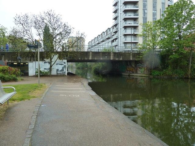 Bridge 55, Regents Canal - Roman Road Bridge