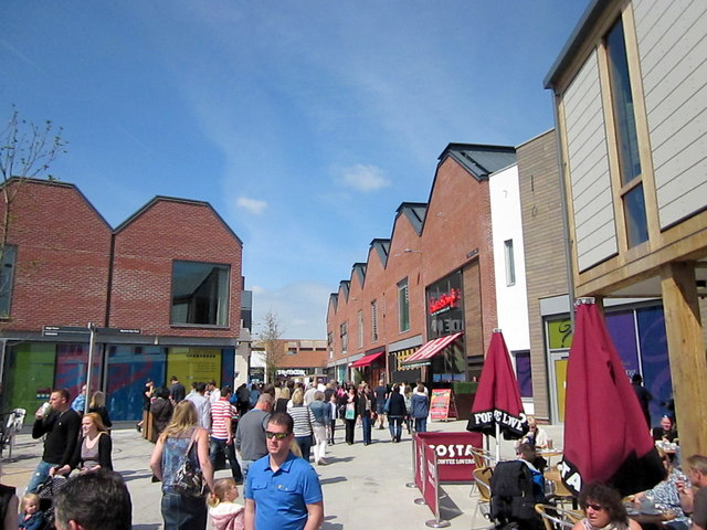 New Old Market Shopping Centre Hereford Roy Hughes