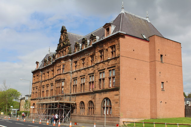 Former Duke Street Hospital Glasgow 169 Leslie Barrie