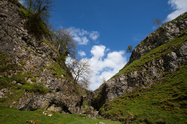 Troller's Gill viewed from the south