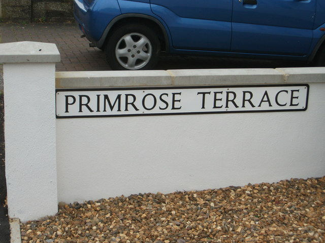 'Primrose  Terrace' - the former Police Station site