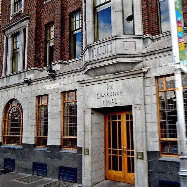Dublin -6-8 Wellington Quay - The Clarence Hotel