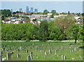 TQ4276 : Greenwich Cemetery, Eltham SE9 : Week 18