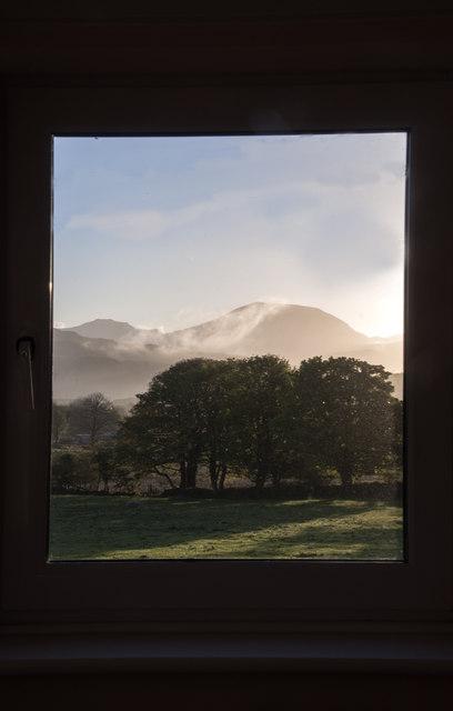 Morning arrives near Muriau