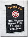 TL4363 : Sign on pub wall by Kim Fyson