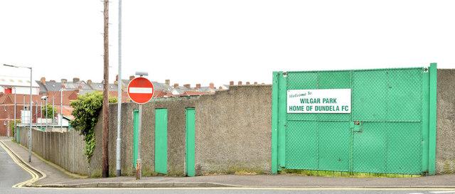 Wilgar Park football ground, Belfast - May 2014(1)