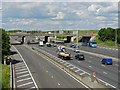 TQ0375 : Junction 14, The M25 by Alan Hunt