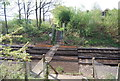 TQ4347 : Footpath, Level Crossing by N Chadwick