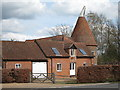 TQ4645 : Brocas Oast, Hever Road, Hever by Oast House Archive