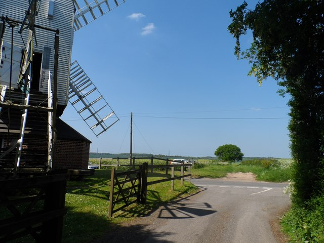 Looking north from Cromer Windmill