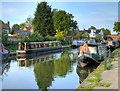 SJ6887 : The Bridgewater Canal at Lymm by David Dixon