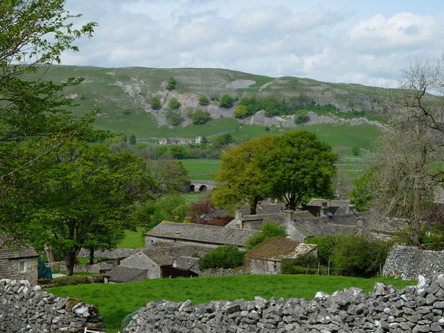 The rooftops of Conistone