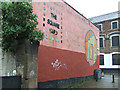 NS6064 : Barras mural - The Square Yard by Thomas Nugent