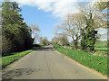 SP3534 : Sibford Road west of White Hills Farm by Stuart Logan