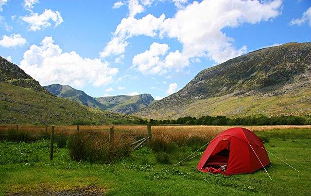 Tent in the Oggi