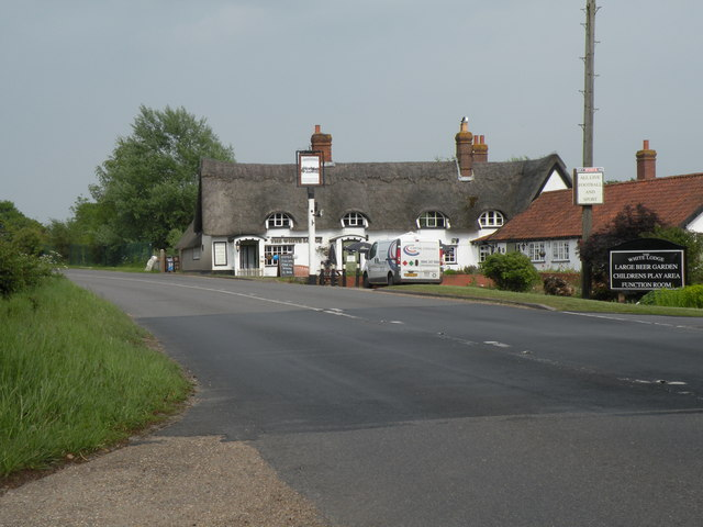'The White Lodge' inn near Attleborough