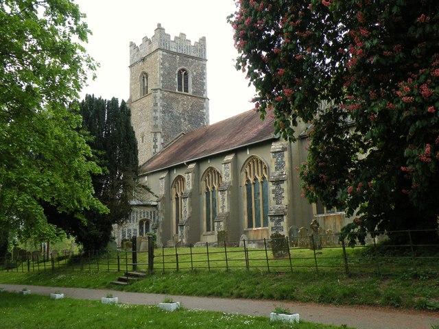 St. Michael: the parish church of Bunwell