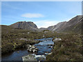 NG9850 : River Lair and Coire Làir by Trevor Littlewood