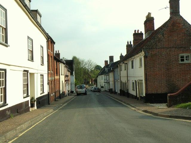 Damgate Street in Wymondham