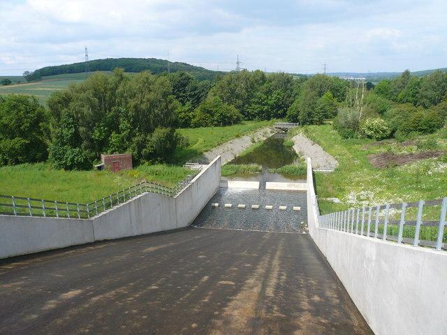 Ulley Reservoir - Overflow