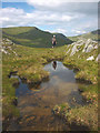 NY4108 : Small tarn on Hart Crag by Karl and Ali