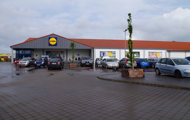 Lidl supermarket (2), Donore Road, Drogheda, Co. Louth
