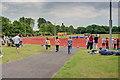 NZ1986 : Athletics Track, The King Edward VI School by Mick Garratt