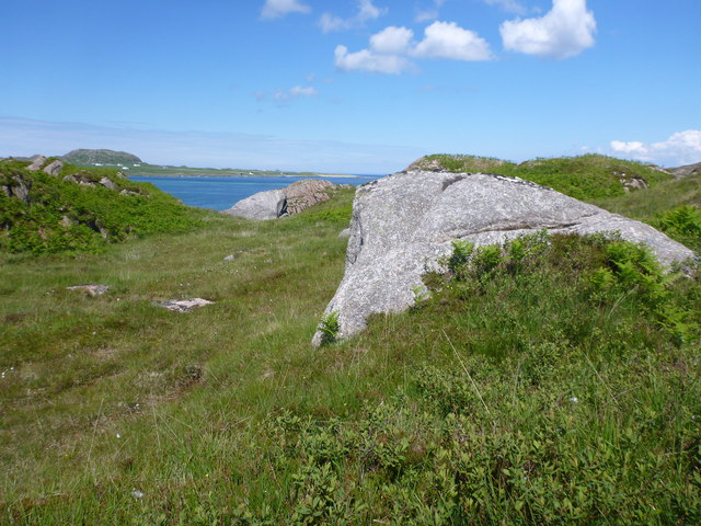 Granite boulders south of Fhionnphort