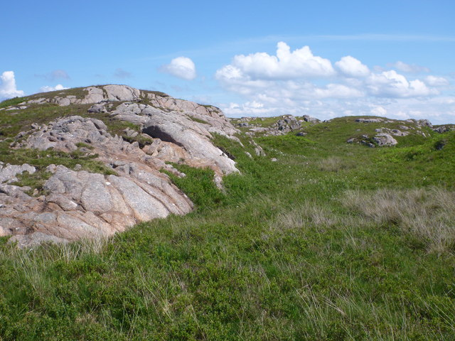 Roches Moutonnées by track to Fidden