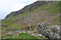 NM4987 : Screes and Cliffs by Anne Burgess