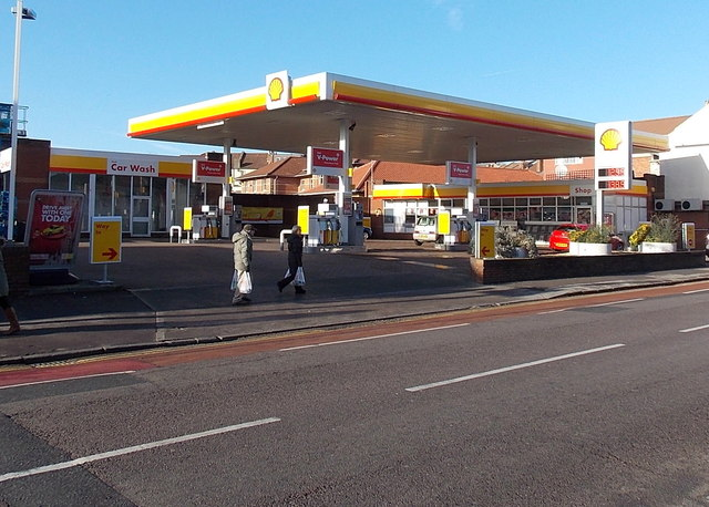 Gloucester Road Shell Filling Station,... © Jaggery