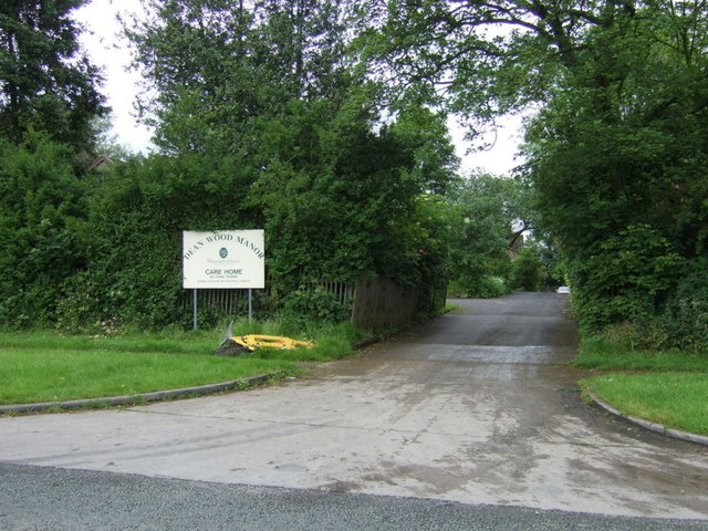 Entrance to care home