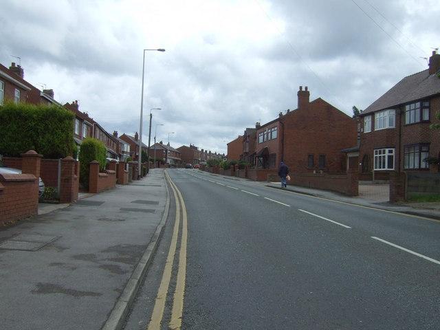 Gathurst Road (B5206). Orrell