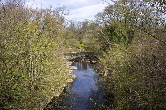 River Greta from the Dairy Bridge