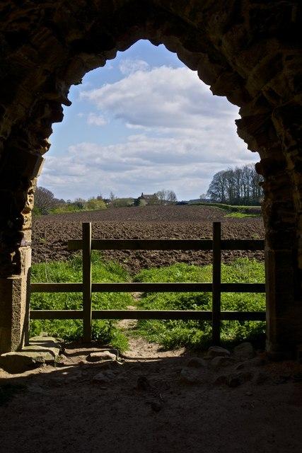 Doorway, Mowbray Castle, Hackfall Woods