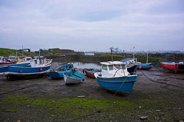 Fishing Boats, Guy's Hole, South Gare