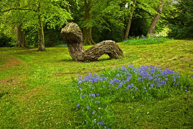 Willow Sculpture, Conyngham Park, Knaresborough
