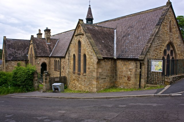 St Cuthbert's hall, Shotley Bridge